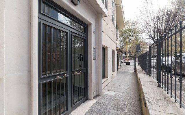 Апартаменты Gianicolense Green Apartment вид на фасад