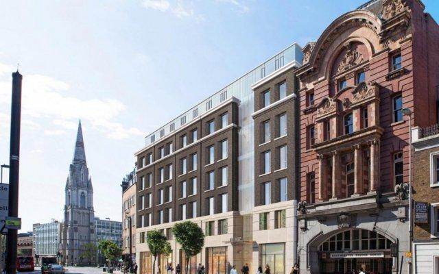 Отель Marlin Waterloo Лондон вид на фасад