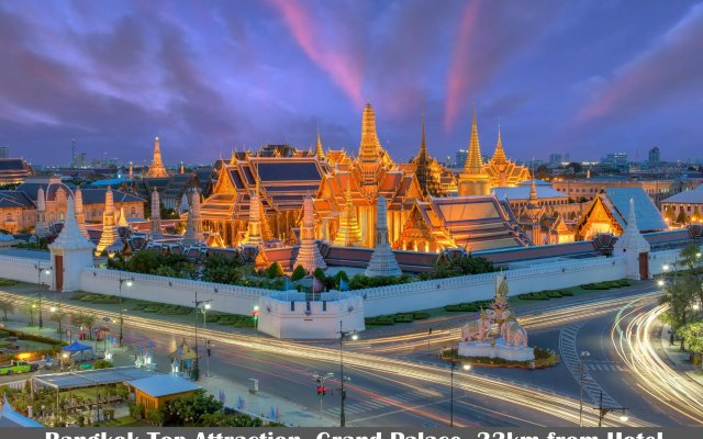 Отель Golden Jade Suvarnabhumi Таиланд, Бангкок - 1 отзыв об отеле, цены и фото номеров - забронировать отель Golden Jade Suvarnabhumi онлайн вид на фасад