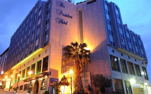 Best Western Plus The President Hotel вид на фасад