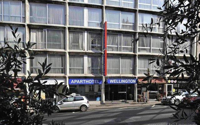 Отель Aparthotel Wellington Brussel Бельгия, Брюссель - отзывы, цены и фото номеров - забронировать отель Aparthotel Wellington Brussel онлайн вид на фасад