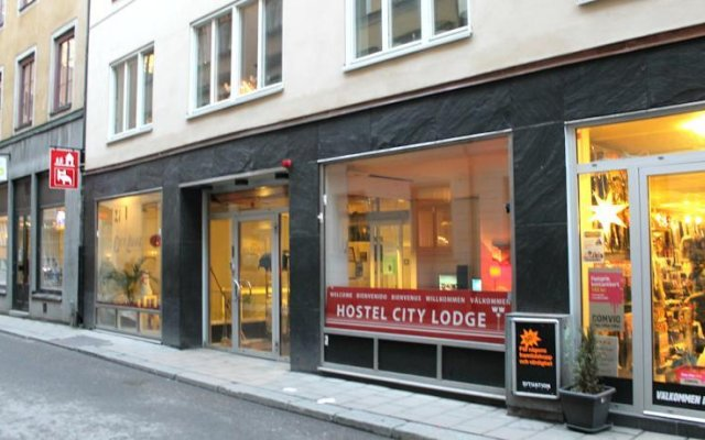Отель City Lodge Stockholm вид на фасад