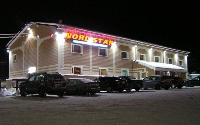 Отель Норд Стар Горнолыжный Комплекс Мурманск вид на фасад
