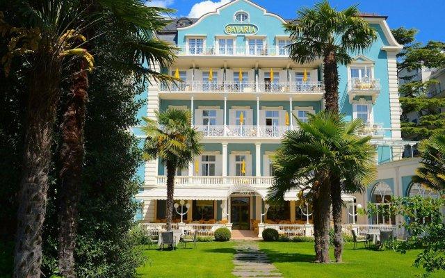 Отель Bavaria Италия, Меран - отзывы, цены и фото номеров - забронировать отель Bavaria онлайн вид на фасад