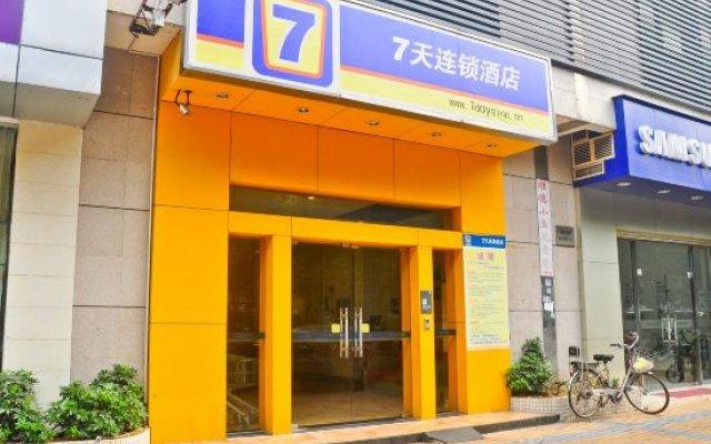 Отель 7 Days Inn (Guangzhou Kecun Metro Station Branch 2) вид на фасад
