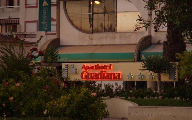 Отель Aparthotel Guadiana вид на фасад