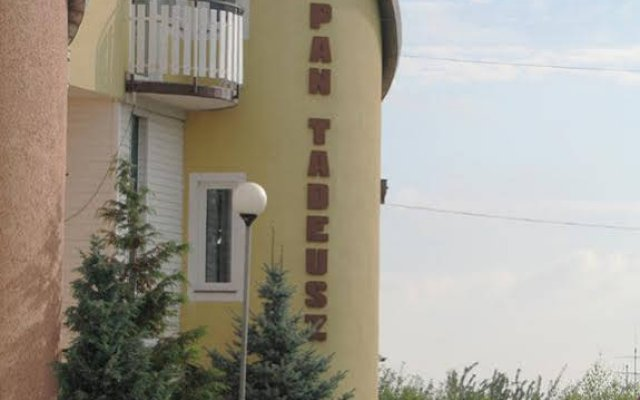 Отель Villa Pan Tadeusz вид на фасад