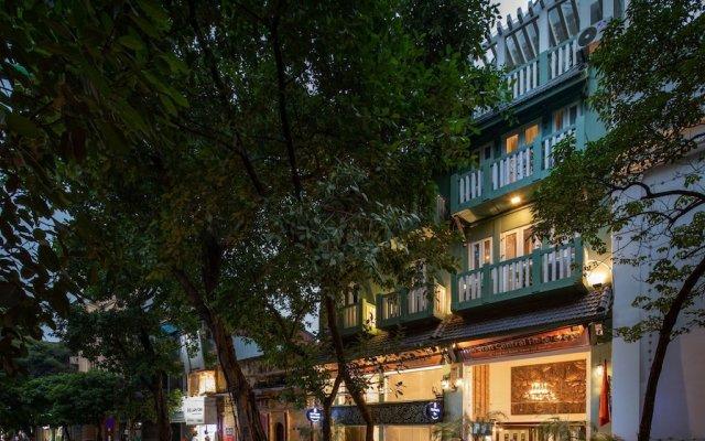 Отель The Hanoian Hotel Вьетнам, Ханой - отзывы, цены и фото номеров - забронировать отель The Hanoian Hotel онлайн вид на фасад