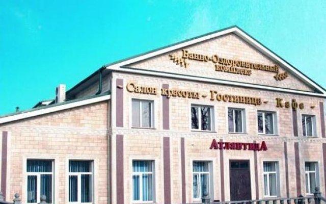 Гостиница Атлантида в Ессентуках отзывы, цены и фото номеров - забронировать гостиницу Атлантида онлайн Ессентуки вид на фасад
