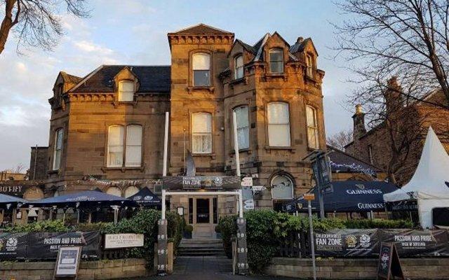Отель Murrayfield Hotel Великобритания, Эдинбург - отзывы, цены и фото номеров - забронировать отель Murrayfield Hotel онлайн вид на фасад