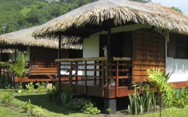 Отель Fare Arearea вид на фасад