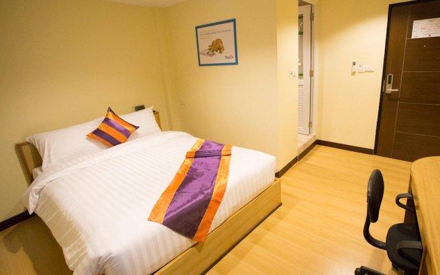 Апартаменты Studio Central Pattaya By Icheck Inn Паттайя комната для гостей