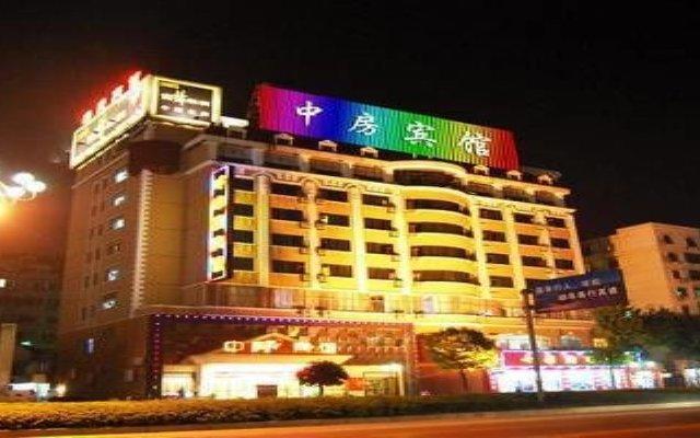 Zhongfang Hotel вид на фасад