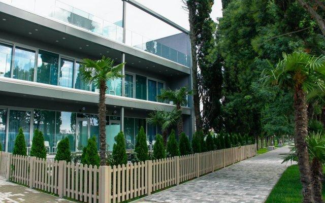 Гостиница Спорт Инн вид на фасад
