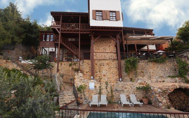 Отель Villa Turka вид на фасад