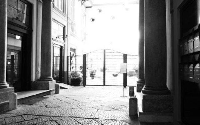 Hotel Piazza Bellini вид на фасад
