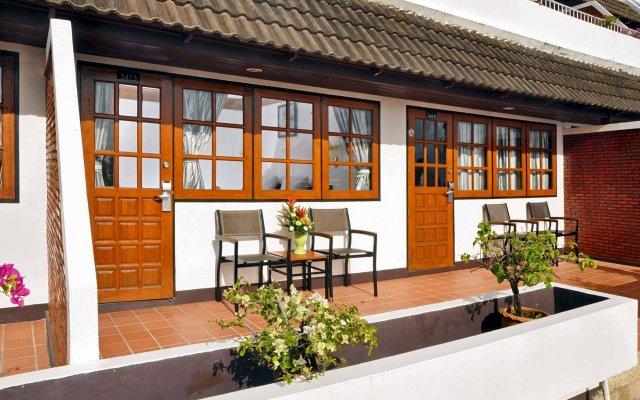 Отель Best Western Phuket Ocean Resort вид на фасад