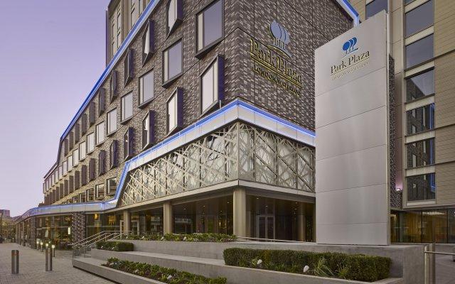 Отель Park Plaza London Waterloo Великобритания, Лондон - 2 отзыва об отеле, цены и фото номеров - забронировать отель Park Plaza London Waterloo онлайн вид на фасад