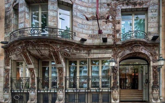 Отель Elysées Ceramic Париж вид на фасад