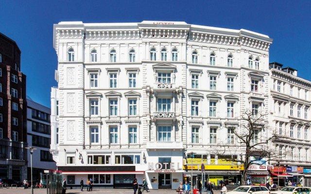 Novum Hotel Graf Moltke Hamburg вид на фасад