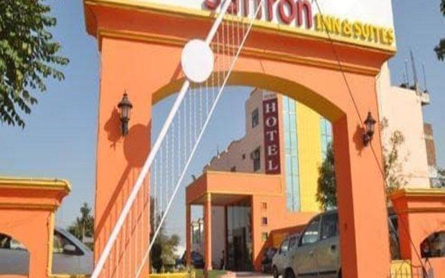 Отель Jypore Saffron Inn & Suites Индия, Джайпур - отзывы, цены и фото номеров - забронировать отель Jypore Saffron Inn & Suites онлайн вид на фасад