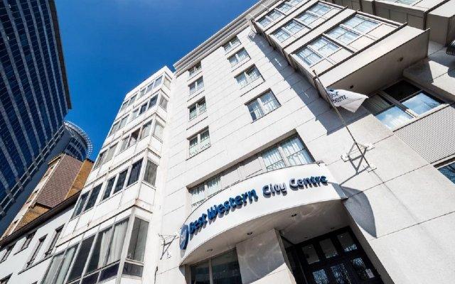 Отель Best Western City Centre Бельгия, Брюссель - 11 отзывов об отеле, цены и фото номеров - забронировать отель Best Western City Centre онлайн вид на фасад