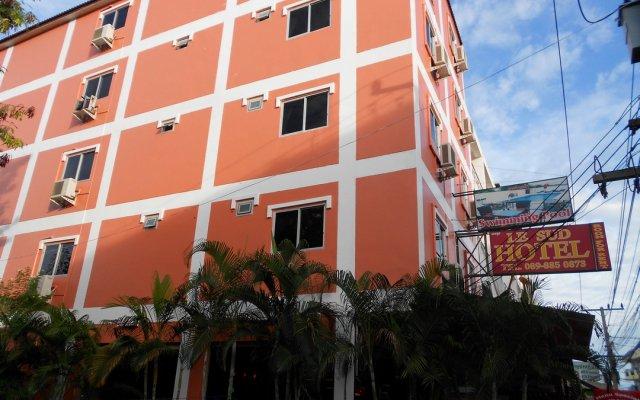 Hotel Le Sud Паттайя вид на фасад