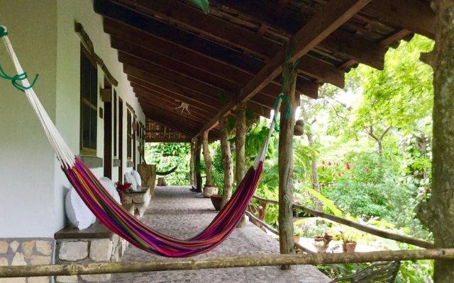 Hotel Hacienda San Lucas Копан-Руинас вид на фасад