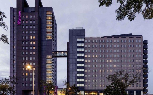 Отель Mercure Amsterdam City вид на фасад