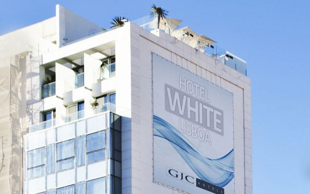 Отель White Lisboa Лиссабон вид на фасад