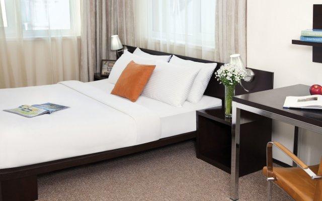 Отель Citadines City Centre Tbilisi комната для гостей