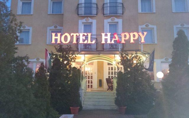 Hotel Happy вид на фасад