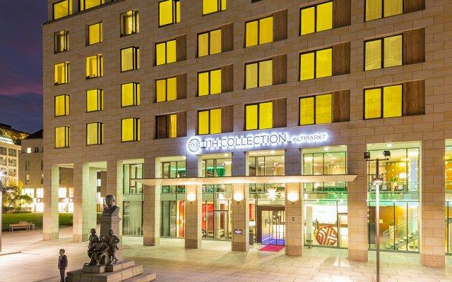 Отель NH Collection Dresden Altmarkt вид на фасад