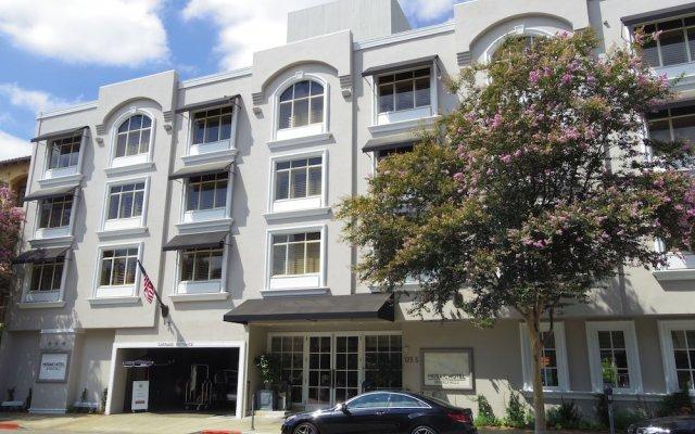 Отель The Mosaic Beverly Hills Беверли Хиллс вид на фасад