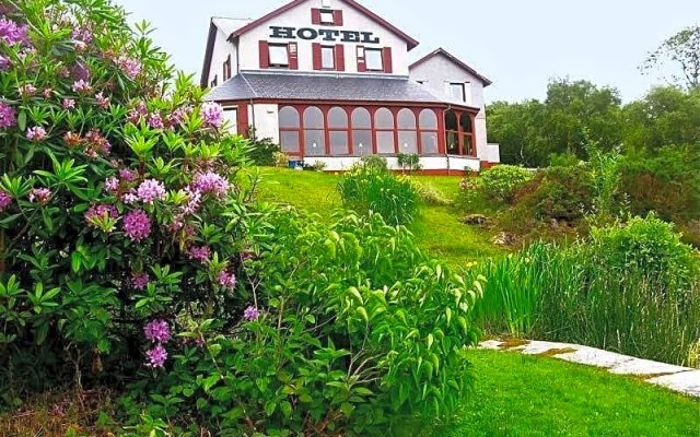 Отель Gairloch Highland Lodge вид на фасад