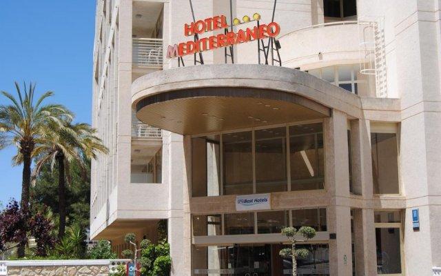 Отель Best Mediterraneo Испания, Салоу - 5 отзывов об отеле, цены и фото номеров - забронировать отель Best Mediterraneo онлайн вид на фасад