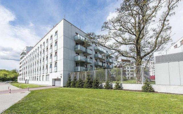 Отель P&O Apartments Bielany 6 Польша, Варшава - отзывы, цены и фото номеров - забронировать отель P&O Apartments Bielany 6 онлайн вид на фасад