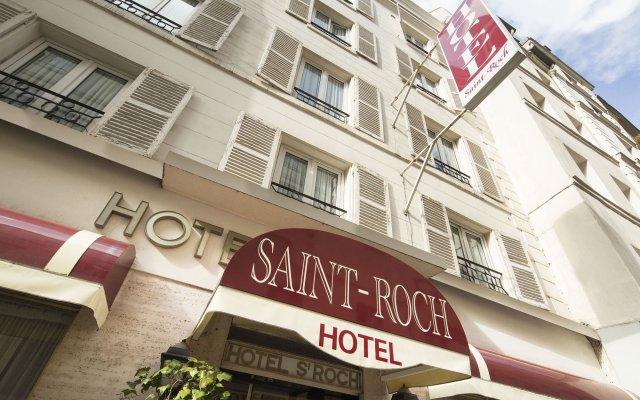 Отель Hôtel Saint Roch вид на фасад