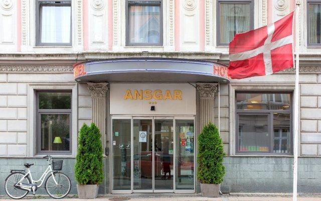 Отель Ansgar Дания, Копенгаген - 1 отзыв об отеле, цены и фото номеров - забронировать отель Ansgar онлайн вид на фасад
