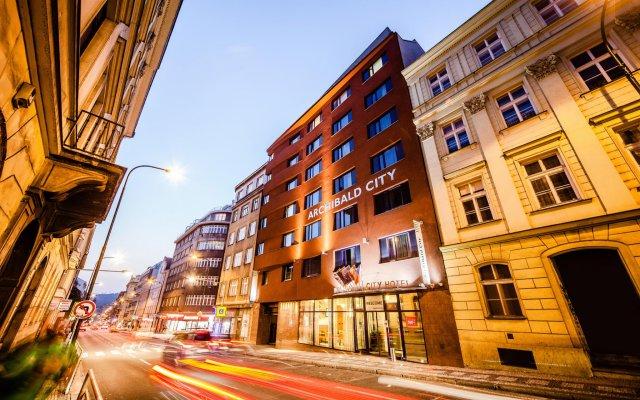 Отель Archibald City Чехия, Прага - - забронировать отель Archibald City, цены и фото номеров вид на фасад