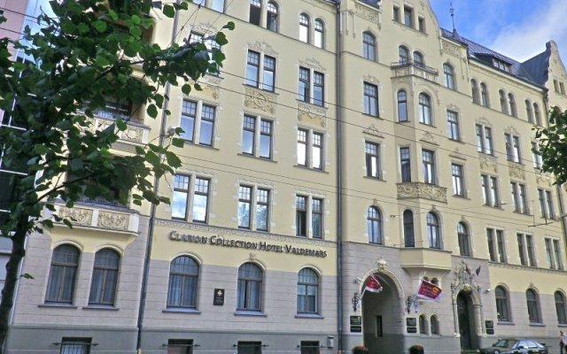 Отель «Валдемарс Рига» под управлением Accor Латвия, Рига - 10 отзывов об отеле, цены и фото номеров - забронировать отель «Валдемарс Рига» под управлением Accor онлайн вид на фасад