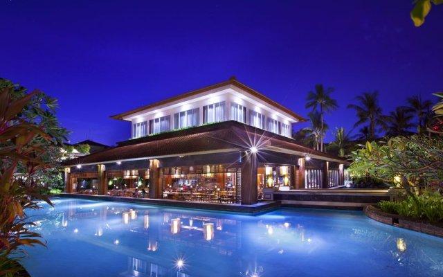 Отель The Laguna, a Luxury Collection Resort & Spa, Nusa Dua, Bali вид на фасад