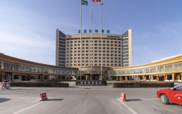Yulong International Hotel вид на фасад