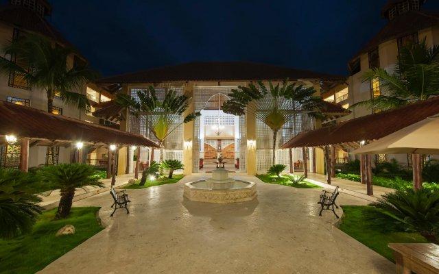 Отель Occidental Caribe - All Inclusive Доминикана, Игуэй - отзывы, цены и фото номеров - забронировать отель Occidental Caribe - All Inclusive онлайн вид на фасад