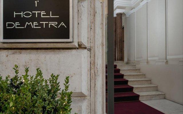 Demetra Hotel вид на фасад