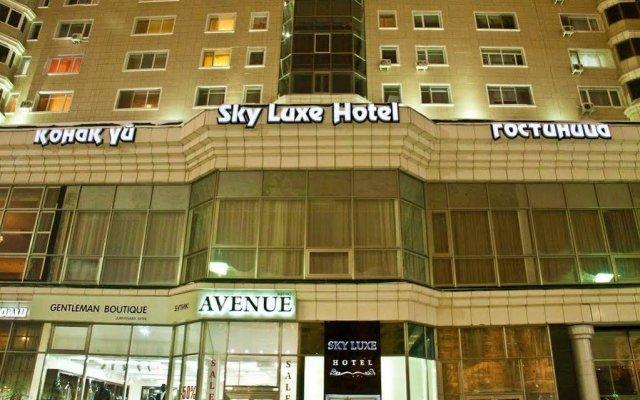 Гостиница Sky Luxe Hotel Казахстан, Нур-Султан - отзывы, цены и фото номеров - забронировать гостиницу Sky Luxe Hotel онлайн вид на фасад
