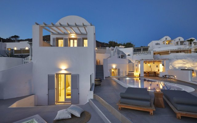 Volcano View Hotel Villas In Santorini Island Greece From