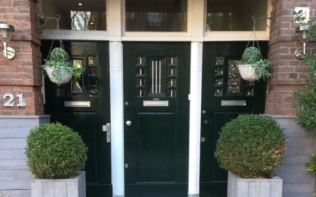 Отель Vondelpark House Bed&Breakfast Нидерланды, Амстердам - отзывы, цены и фото номеров - забронировать отель Vondelpark House Bed&Breakfast онлайн вид на фасад