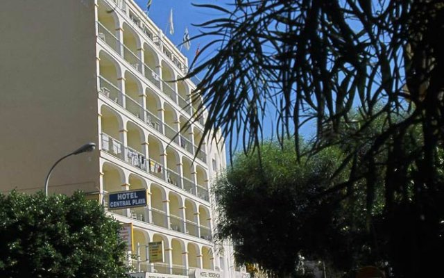 Hotel Central Playa вид на фасад