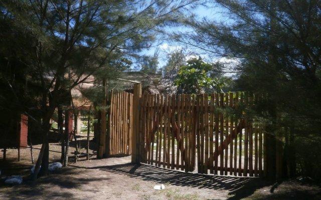 Отель Coco cabañas вид на фасад